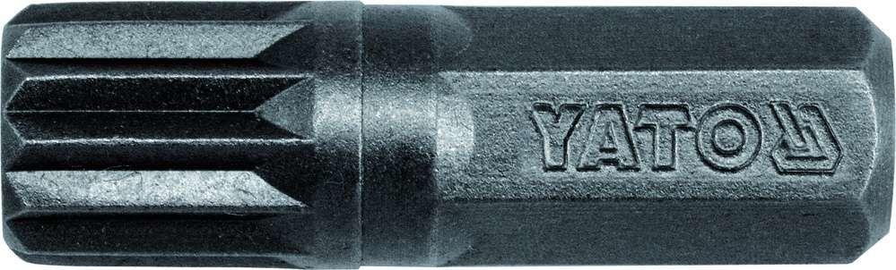 Końcówki wkrętakowe, udarowe 8x30 mm, spline m10, 20 szt Yato YT-7932 - ZYSKAJ RABAT 30 ZŁ