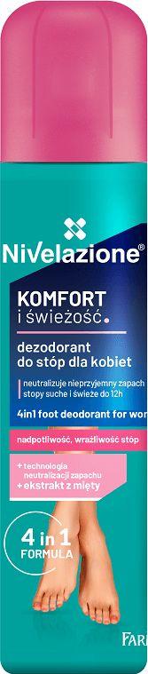 NIVELAZIONE Dezodorant do stóp dla kobiet 180ml