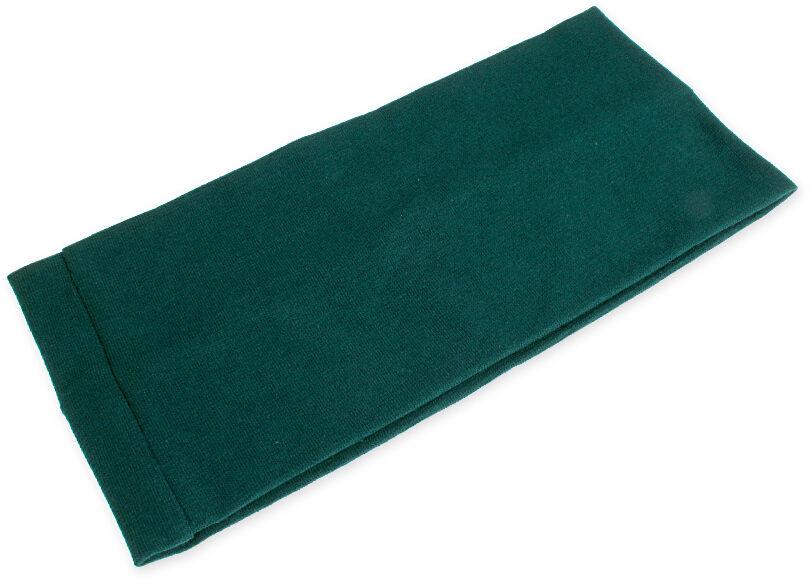 CIEMNOZIELONA OPASKA MATERIALOWA opaski styl sportowy kolor zielony military (cj1996)