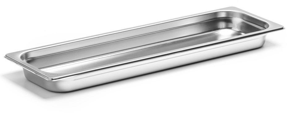 Pojemnik GN 2/4 gł. 4 cm ze stali nierdzewnej