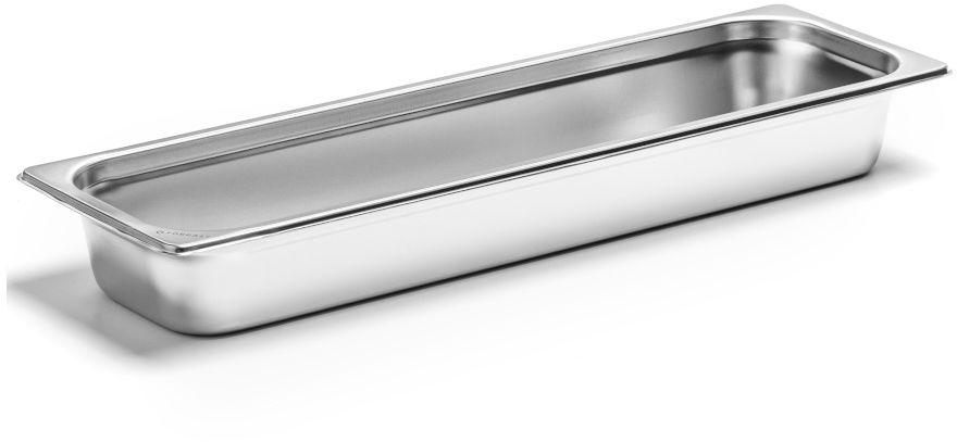 Pojemnik GN 2/4 gł. 6,5 cm ze stali nierdzewnej
