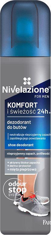 NIVELAZIONE for men Dezodorant do butów dla mężczyzn 180ml