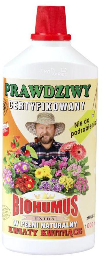 Nawóz do roślin kwitnących BIOHUMUS EXTRA 1 l EKODARPOL