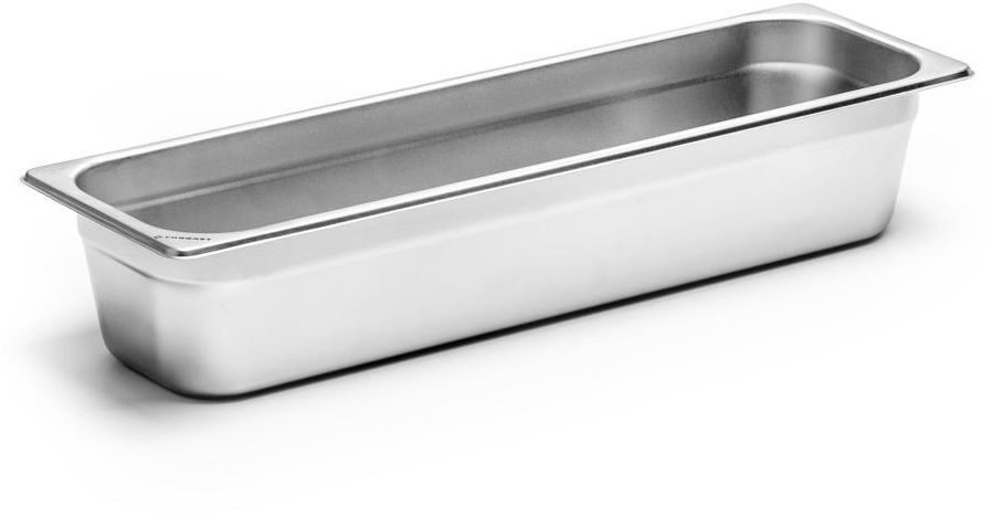 Pojemnik GN 2/4 gł. 10 cm ze stali nierdzewnej