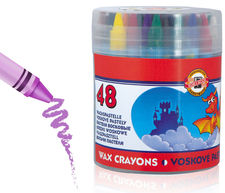 Koh i noor Wax Crayons Kredki Woskowe 48 kol
