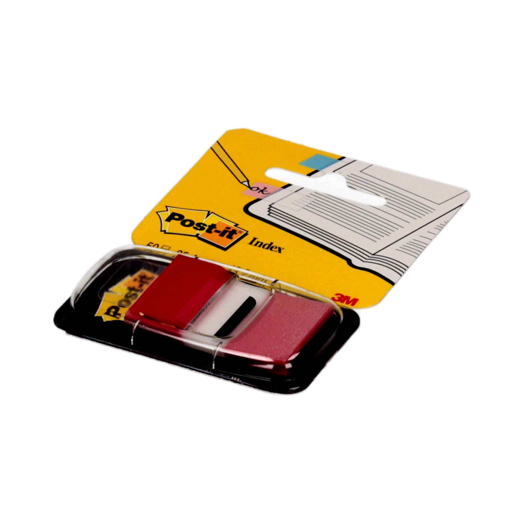 Zakładki indeksujące 25x43/50 czerwone P-it