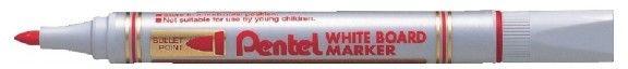 Marker suchościeralny Pentel MW85 - czerwony