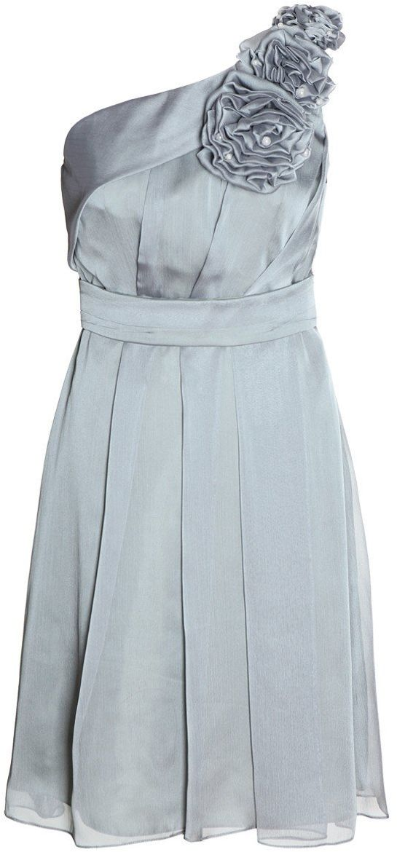 Sukienka FSU987 SZARY