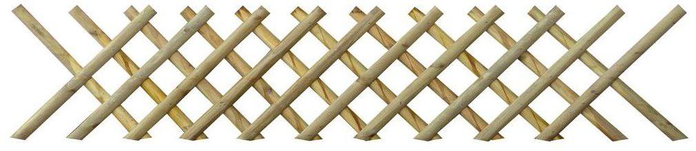 Płot myśliwski 225 x 60 cm drewniany STELMET