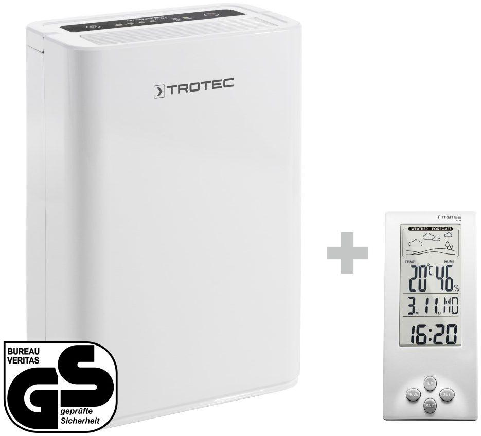 Osuszacz powietrza TTK 52 E + Termohigrometr stacja pogodowa BZ06