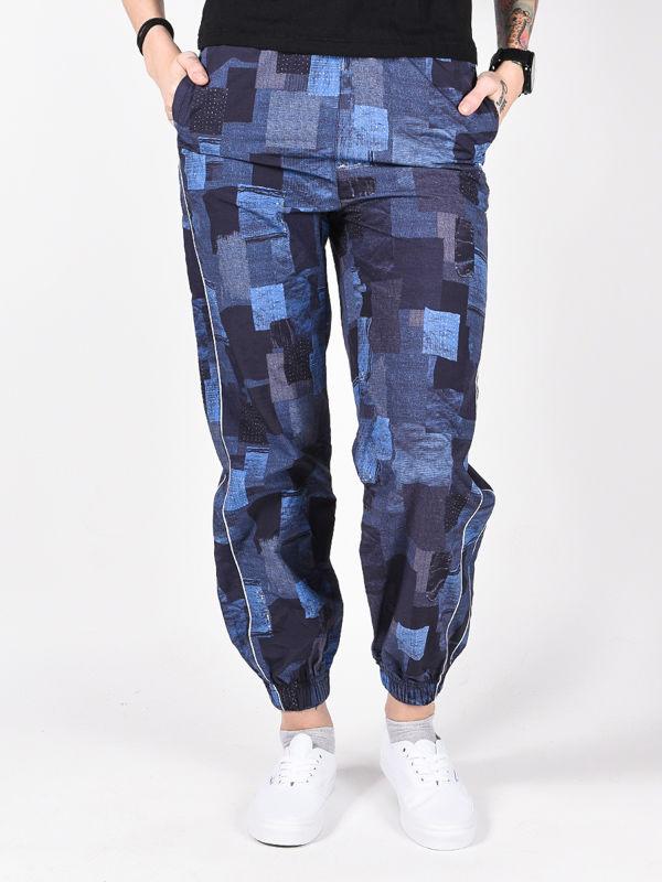 Element WALK THIS WAY BORO PRINT spodnie lniane kobiety - S