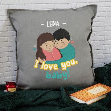 I love you, baby - Poduszka dekoracyjna