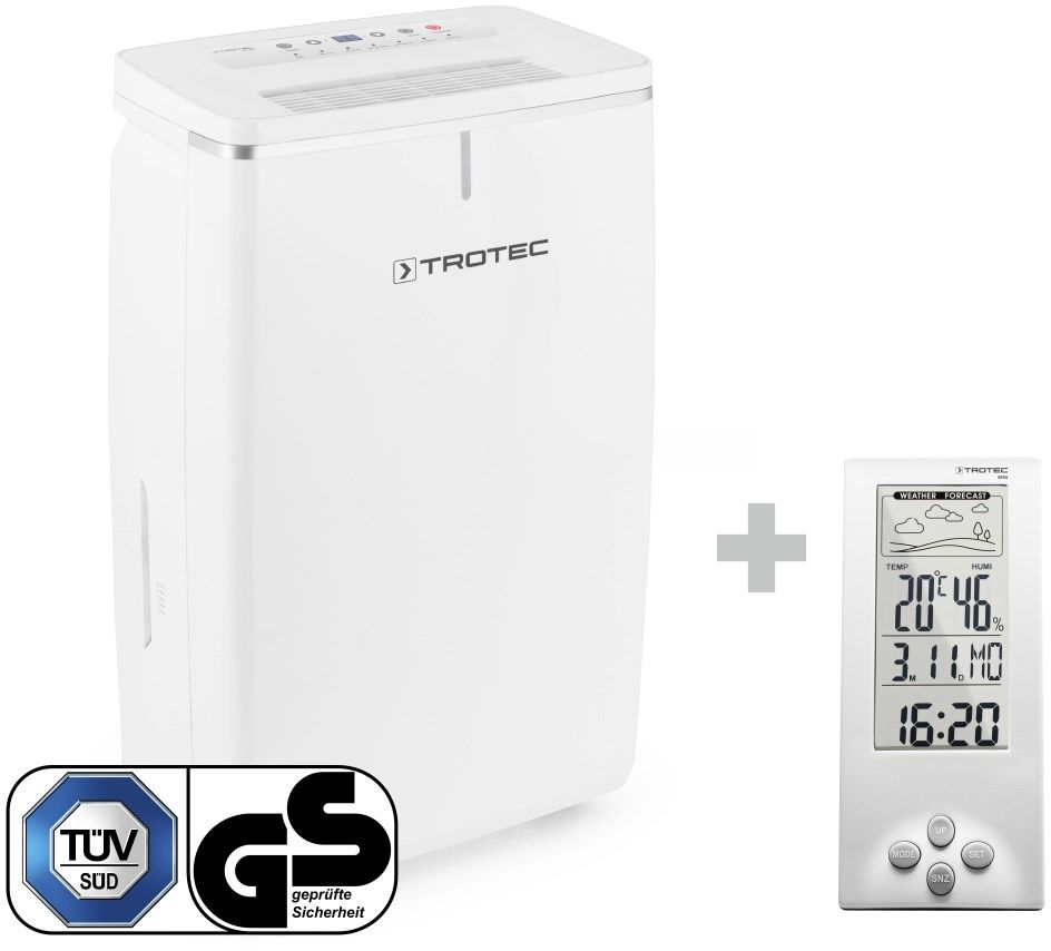 Osuszacz powietrza TTK 53 E + Termohigrometr stacja pogodowa BZ06