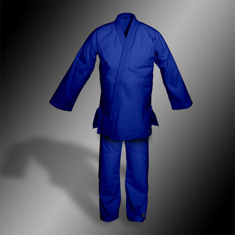 kimono do judo TONBO - PREMIUM, niebieskie, 800g/m2