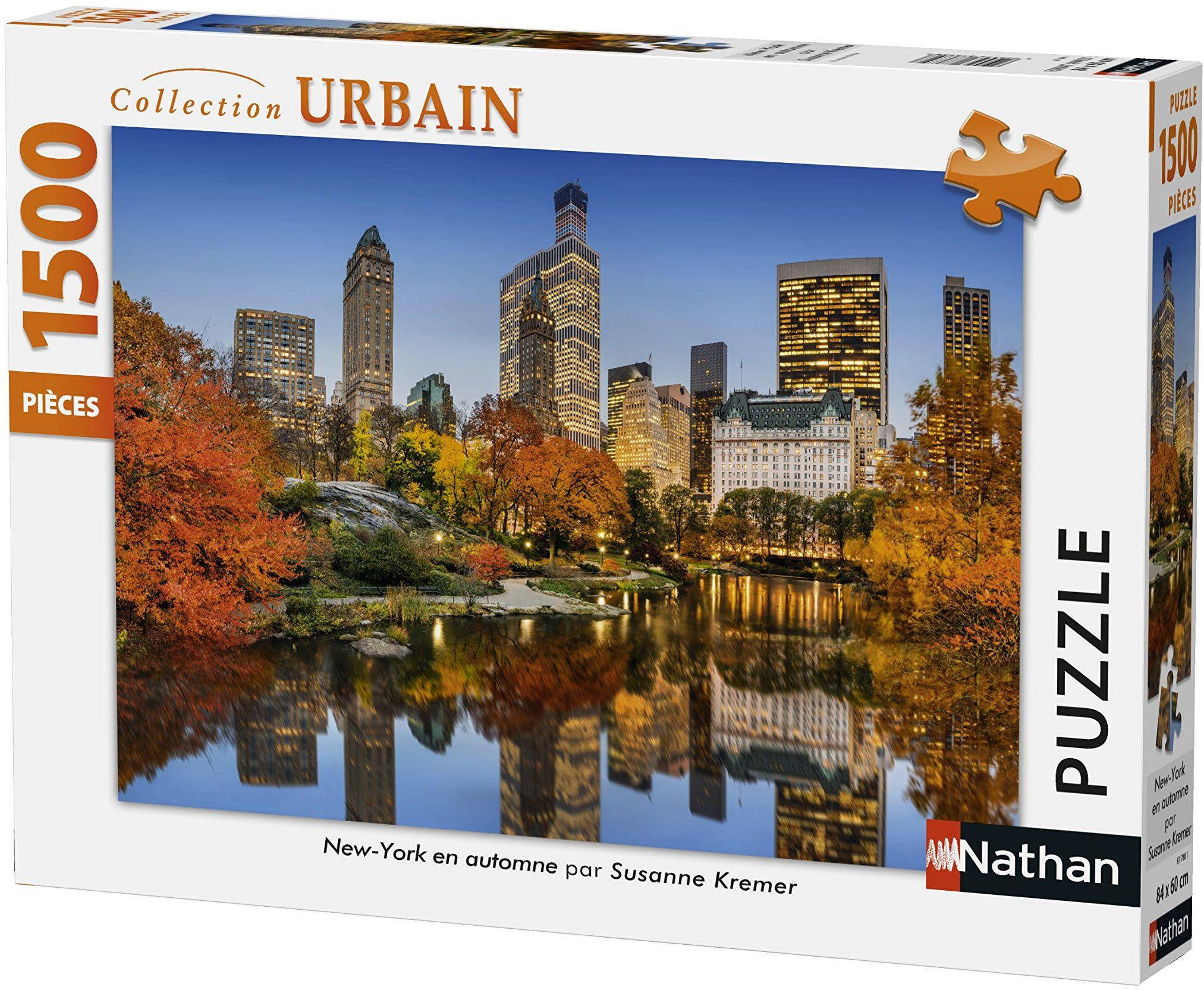 Nathan Puzzle New York jesienią 1500 części, 87788