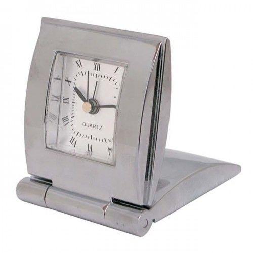 Zegar metalowy z klapką
