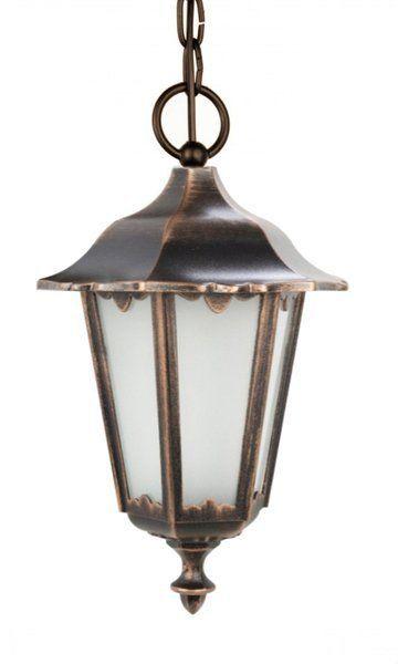 Lampa wisząca zewnętrzna Retro Classic K 1018/1/D miedź