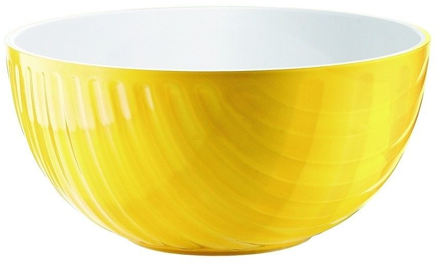 Miska mirage, średnica 25.00 cm, żółta - ø 25.00 cm