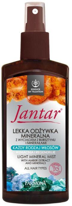 JANTAR Lekka odżywka mineralna z wyciągiem z bursztynu i minerałami 200ml