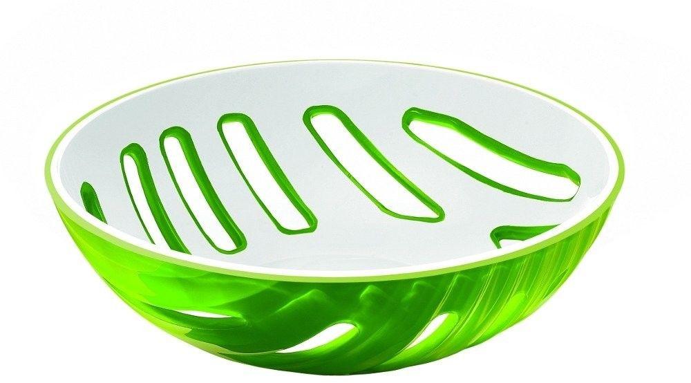 Kosz na owoce mirage, zielony - zielony