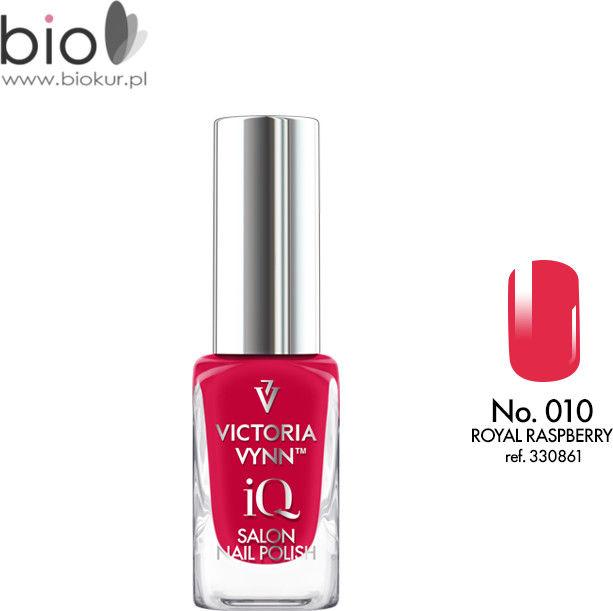 Lakier klasyczny Nail Polish iQ 010 ROYAL RASPBERRY Victoria Vynn - 9 ml
