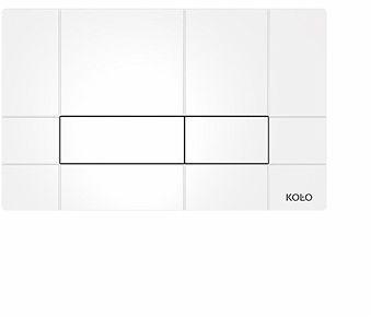 Przycisk WC spłukujący BOX do stelaża TECHNIC GT biały