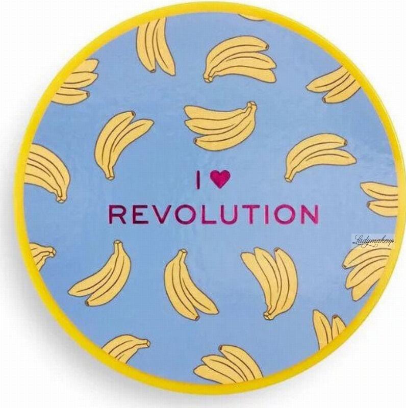I Heart Revolution - Banana Baking Powder - Sypki puder bananowy do twarzy - 22 g