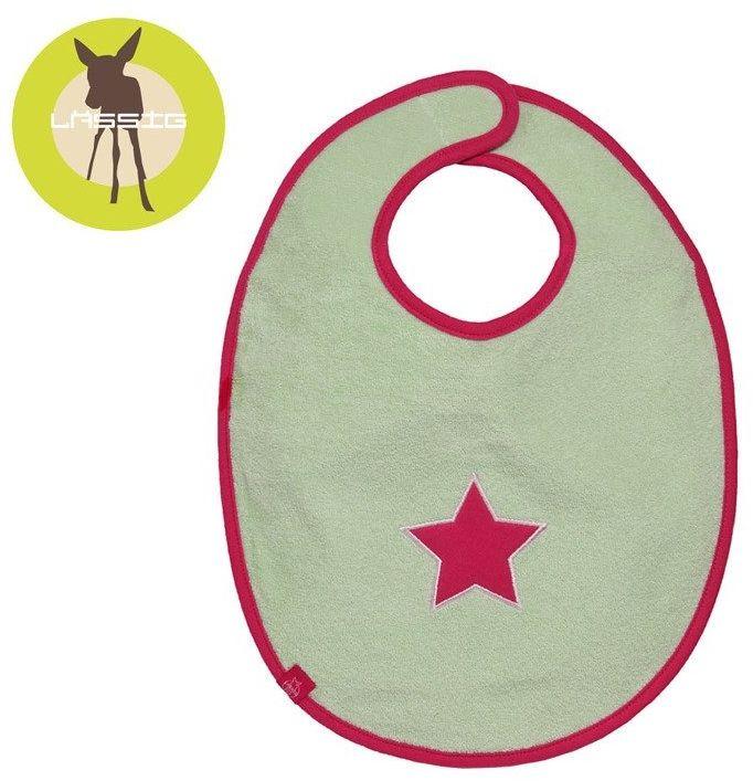 Śliniak bawełniany wodoodporny 6-24m Starlight magenta