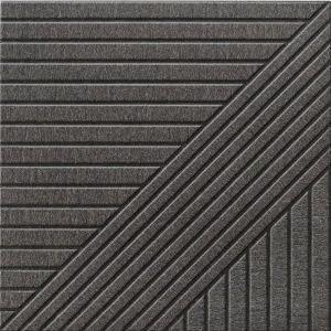 Tangram Skin Black 44x44 płytka podłogowa