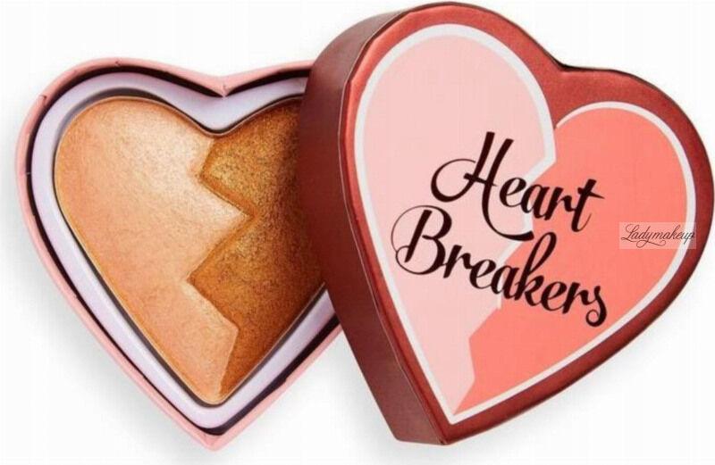 I Heart Revolution - Heart Breakers Highlighter - Rozświetlacz do twarzy - 10 g - WISE