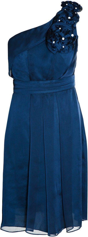 Sukienka FSU987 GRANATOWY