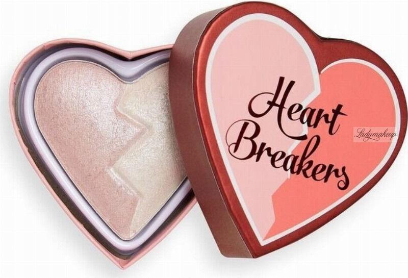 I Heart Revolution - Heart Breakers Highlighter - Rozświetlacz do twarzy - 10 g - UNIQUE