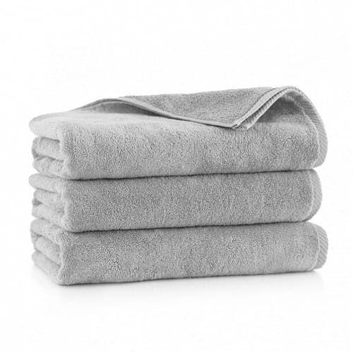 ZWOLTEX Ręcznik KIWI 2 Jasny Grafit 50x100