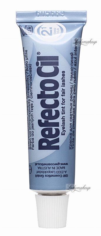 RefectoCil - Eyelash and Eyebrow Tint - Henna do brwi i rzęs - 2.1 DEEP BLUE