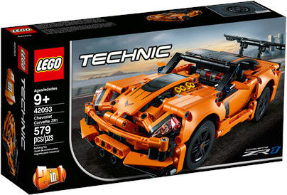 LEGO Technic - Chevrolet Corvette ZR1 2w1 42093