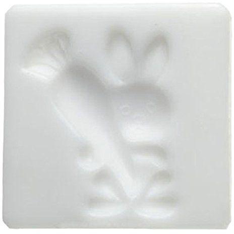 Silikomart silikonowa forma cukroflex królik z marchewką, biała