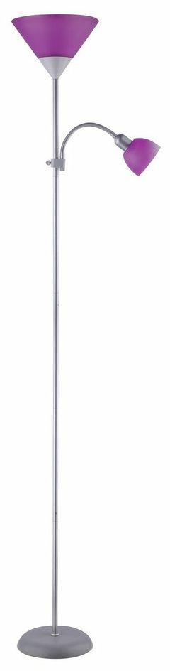 Rabalux 4020 Action lampa stojąca, fioletowa