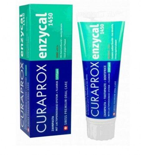 Pasta do zębów wzmacniająca szkliwo CURAPROX Enzycal 1450 75ml