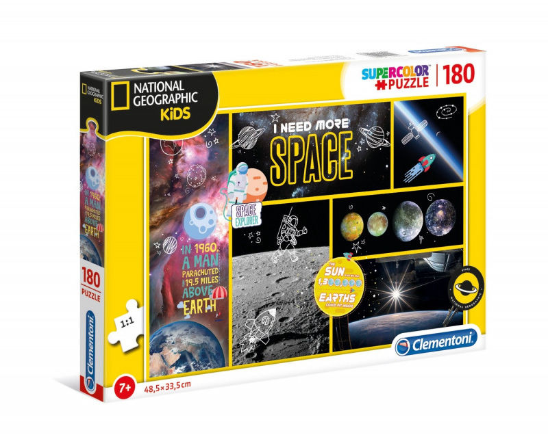 Puzzle 180 elementów National Geographic Kids