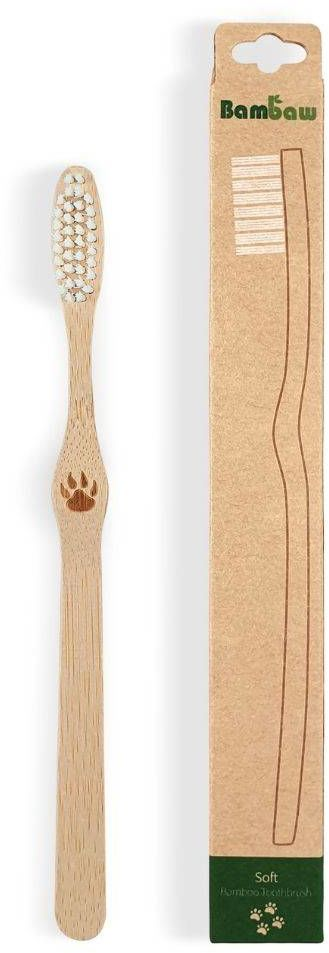 Bambusowa szczoteczka do zębów 1szt. Bambaw - soft