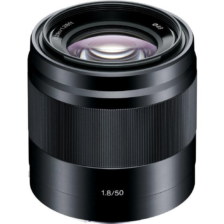 Sony E 50mm F1.8 OSS - obiektyw stałoogniskowy, SEL50F18 Sony SEL50F18