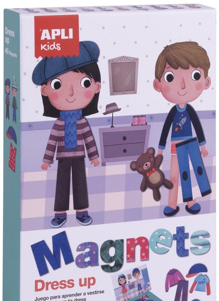 Apli Kids - Magnetyczna Układanka Apli Kids - Ubieranki