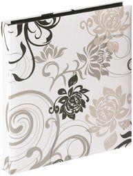 walther design EA-201-W Grindy laminowany papier artystyczny wsuwany album, na 400 zdjęć 4 x 6 cali (10 x 15 cm), biały