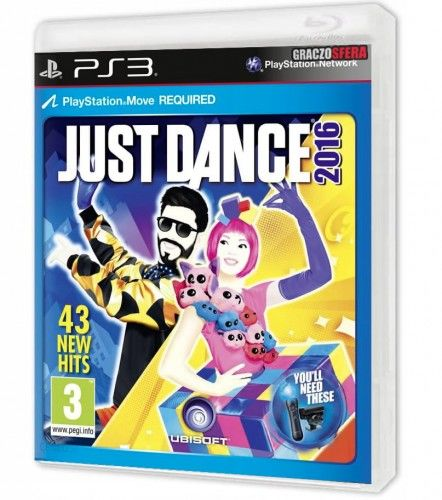 Just Dance 2016 PS 3