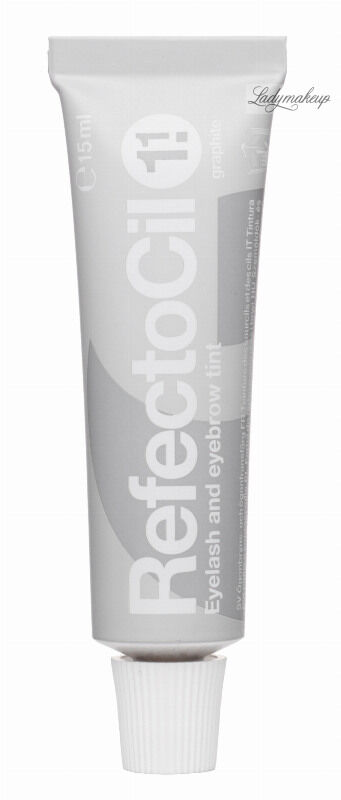 RefectoCil - Eyelash and Eyebrow Tint - Henna do brwi i rzęs - 1.1 GRAPHITE