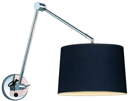 Kinkiet ADAM WALL S BLACK AZ1843 + AZ2586  Azzardo - Zapytaj o kupon rabatowy lub LEDY gratis