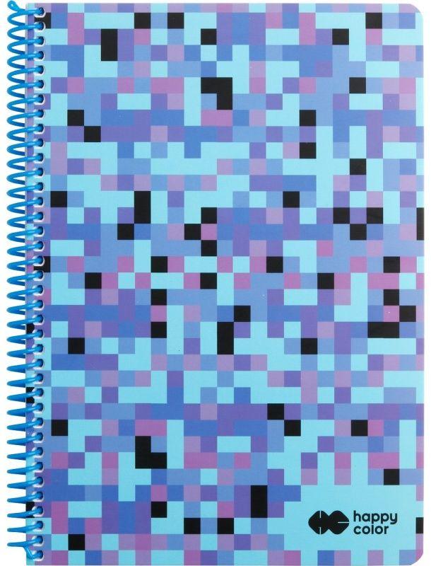 Kołobrulion A4 80k kratka PIXI niebieski Happy Color 6395 HA 4742 2030-PI1