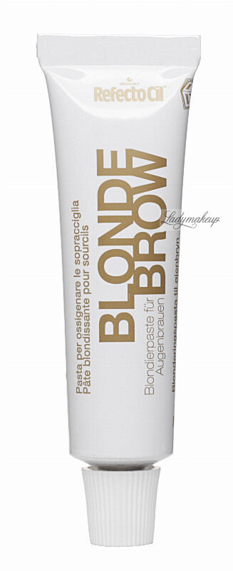 RefectoCil - Bleaching Paste for Eyebrows - Pasta do rozjaśniania brwi - BLONDE BROW
