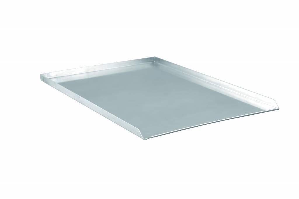 Blacha aluminiowa 3 rantowa - proste krawędzie 60x40x2cm grubość 1,5 - 2 mm