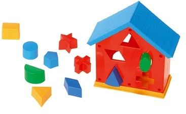 Zabawki Wader Domek Dydaktyczny Sorter Edukacyjny House EDU BABY WADER 42150